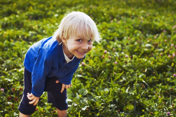 cute crafty little boy outdoors portrait of smiling child.jpg